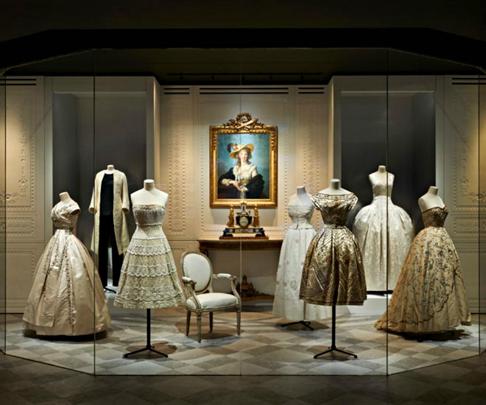 Luxury Brand Christian Dior exhibits at Musée des Arts Décoratifs