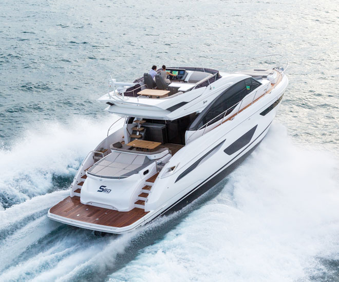 New S60 by Princess Yachts features Sleek Modern Design princess yachts New S60 by Princess Yachts features Sleek Modern Design New S60 by Princess Yachts features Sleek Modern Design
