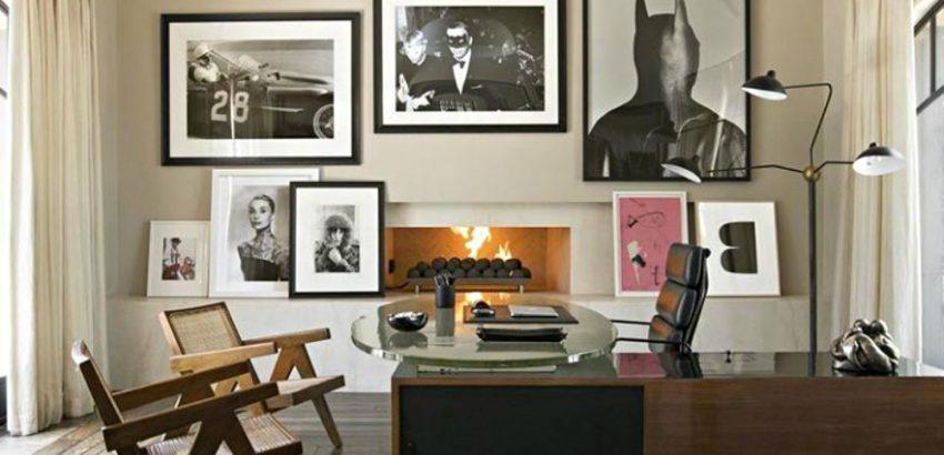 Peek Inside Kourtney Kardashian Home Office Design In California