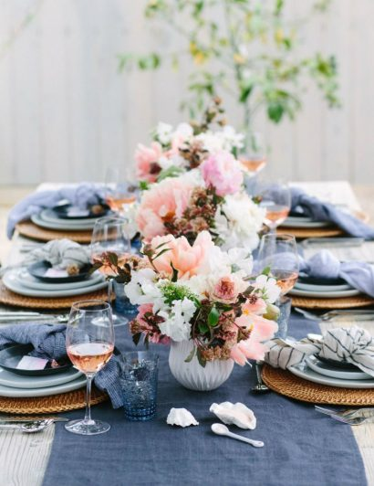 Stunning Summer Table Setting Ideas 01