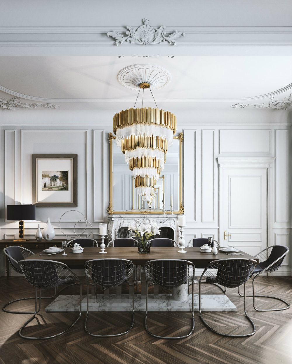 Best french interior design rules you should follow for Best dining room looks