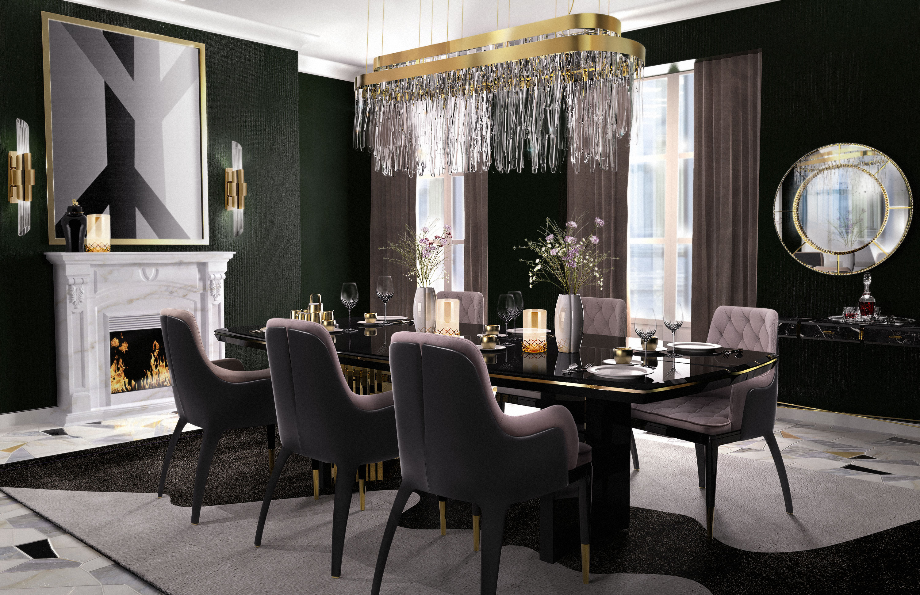 Elegant Dining Room Ideas You Have To Use This Fall Elegant Dining Room  Ideas Elegant Dining