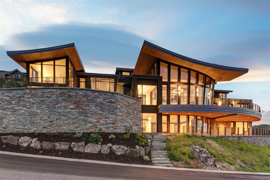 Beautiful luxury homes across the world for Modern homes utah for sale