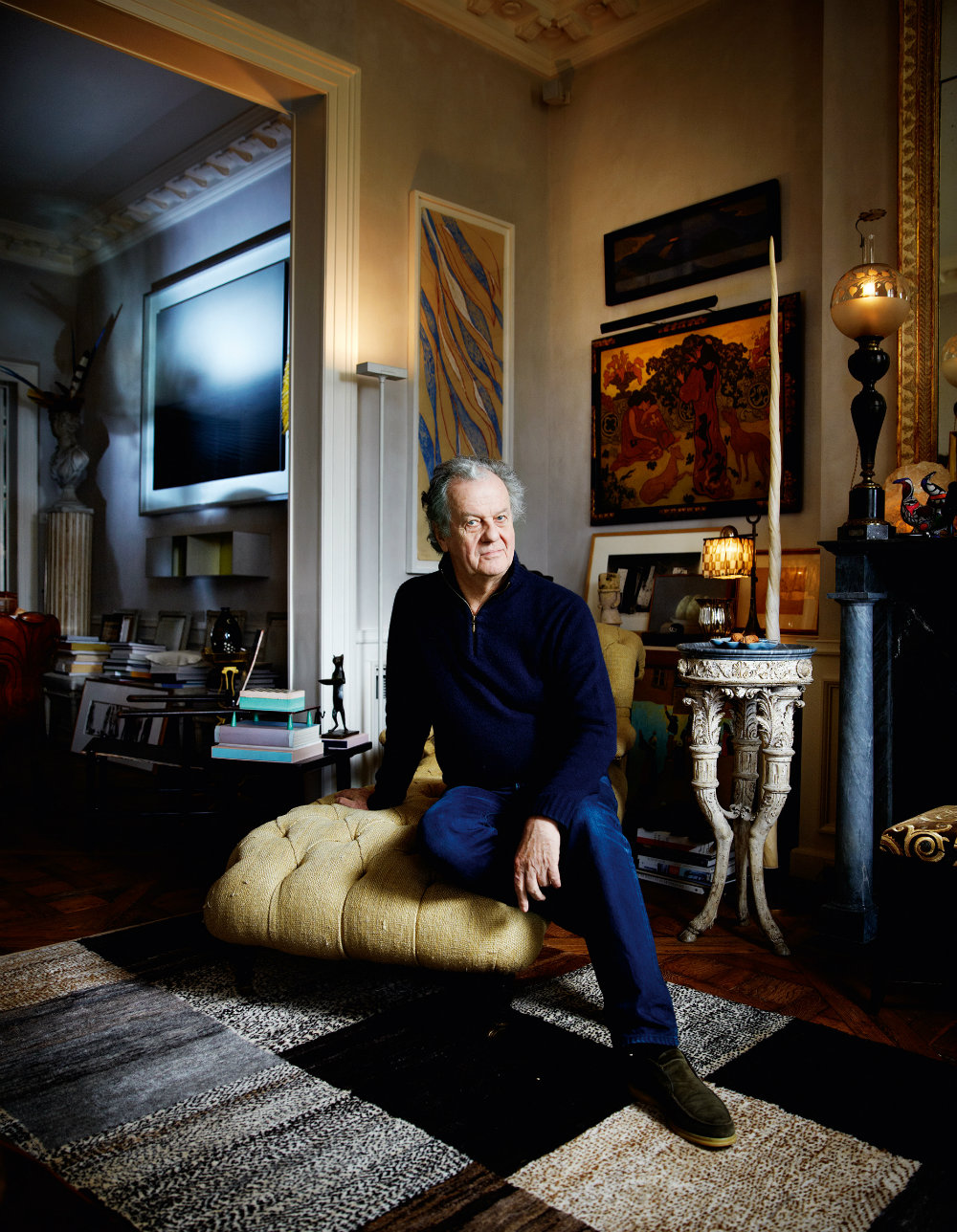 Best Interior Designers : Jacques Grange