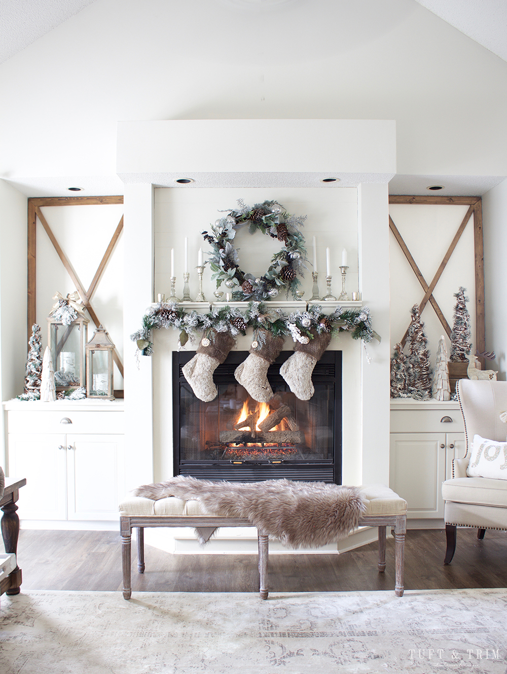 7 chic christmas decorations for the most memorable holiday 07 chic christmas decorations 7 chic christmas - Chic Christmas Decorations