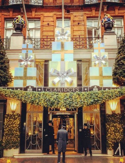 Claridge's Christmas Trees Through The Years 01