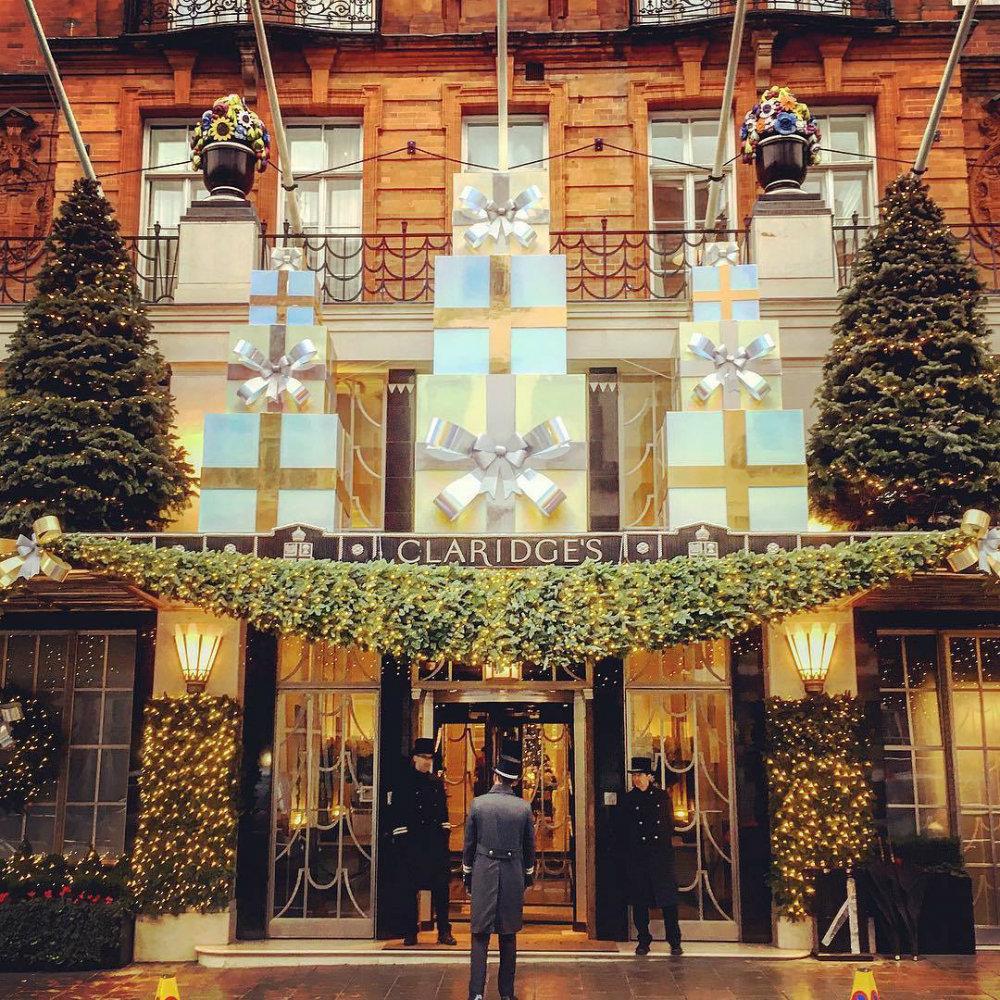 Claridge's Christmas Trees Through The Years