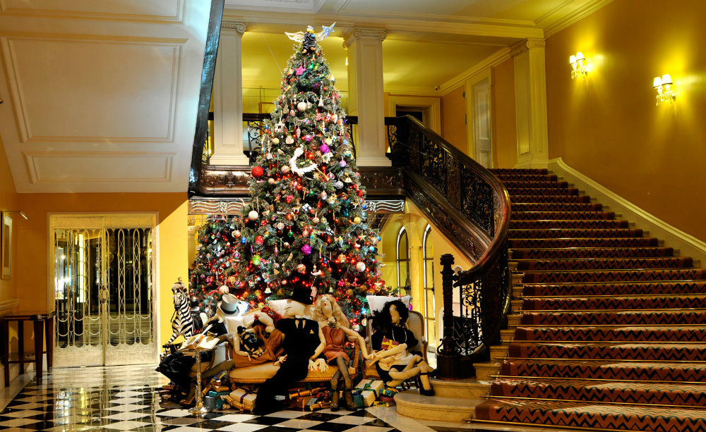 Claridge's Christmas Trees Claridge's Christmas Trees Through The Years Claridges Christmas Trees Through The Years 04