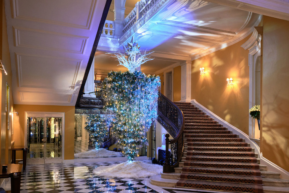 Claridge's Christmas Trees Through The Years 10 Claridge's Christmas Trees Claridge's Christmas Trees Through The Years Claridges Christmas Trees Through The Years 10