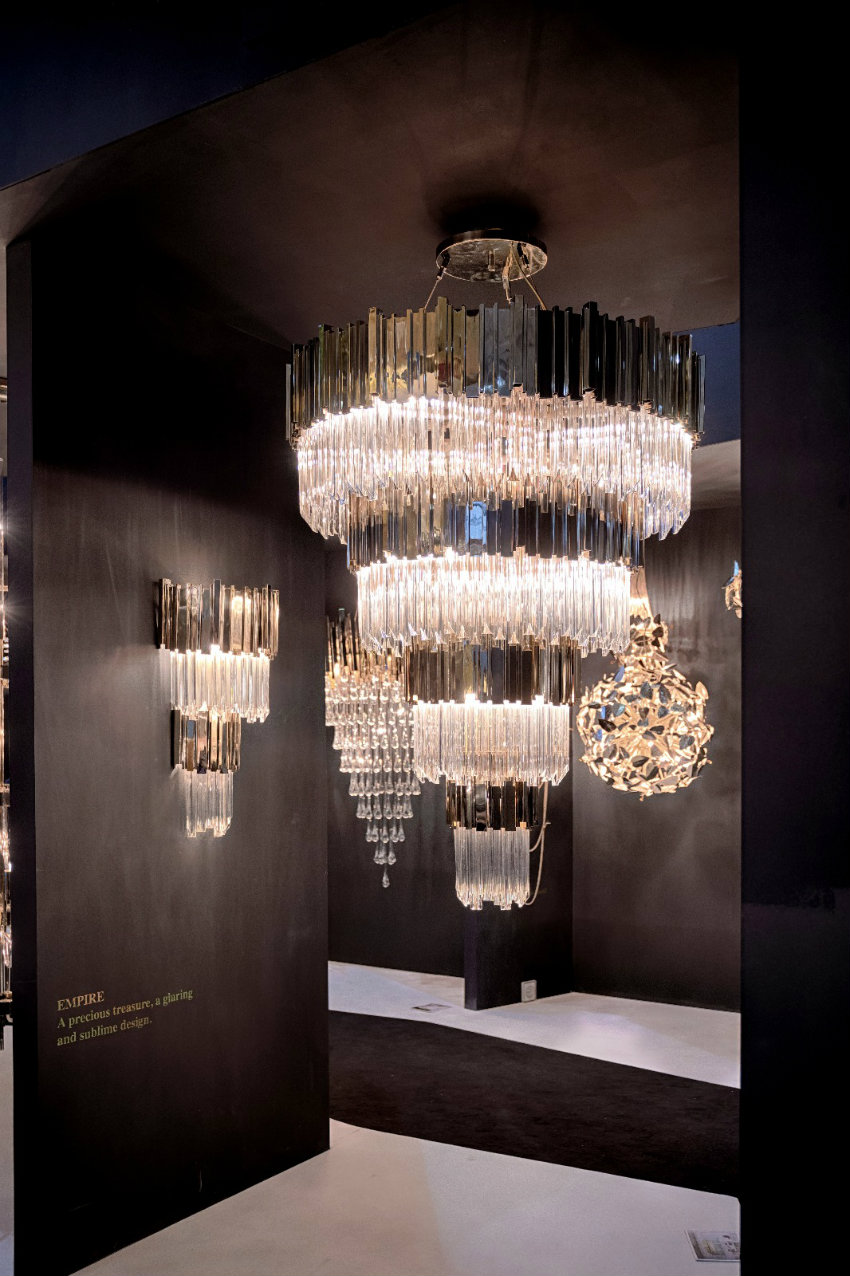 LUXXU Modern Lamps: The Best Moments From Maison et Objet