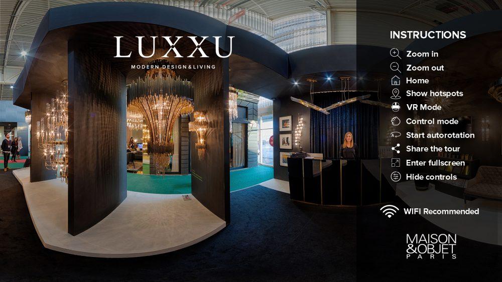 Maison et Objet LUXXU's Presence at Maison et Objet in Pictures virtualtour luxxu e1516634165637