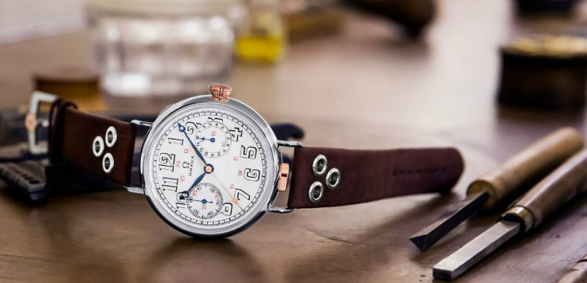 Omega Has Unveiled the Limited Edition Wrist-Chronograph 01