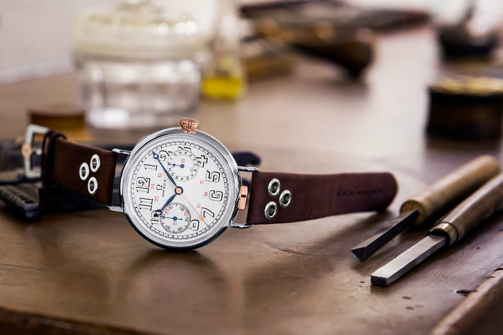 Omega Has Unveiled the Limited Edition Wrist-Chronograph