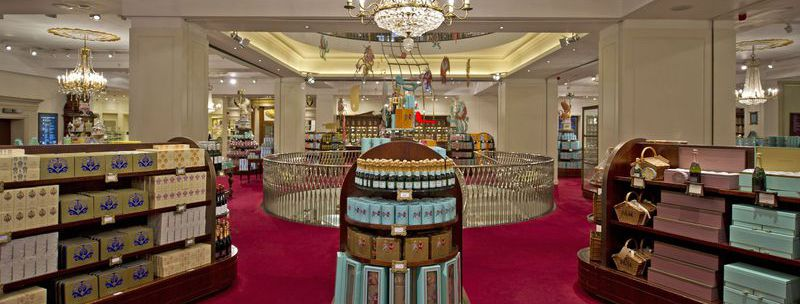 Take a Peek Inside this Luxury Grocery Store in London