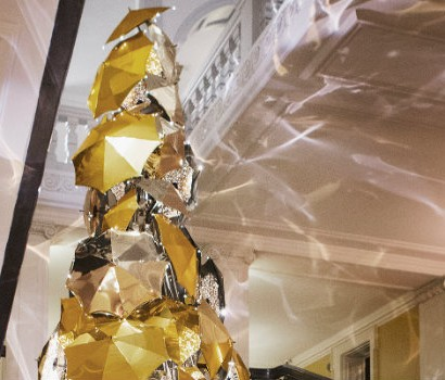 Claridge's Burberry Tree: design trends at Christmas 2015 1535 410x350