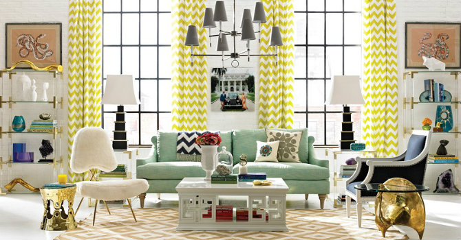 Contemporary living room design ideas jonathan adler Top 10 Jonathan Adler Design Ideas feature LUXXU