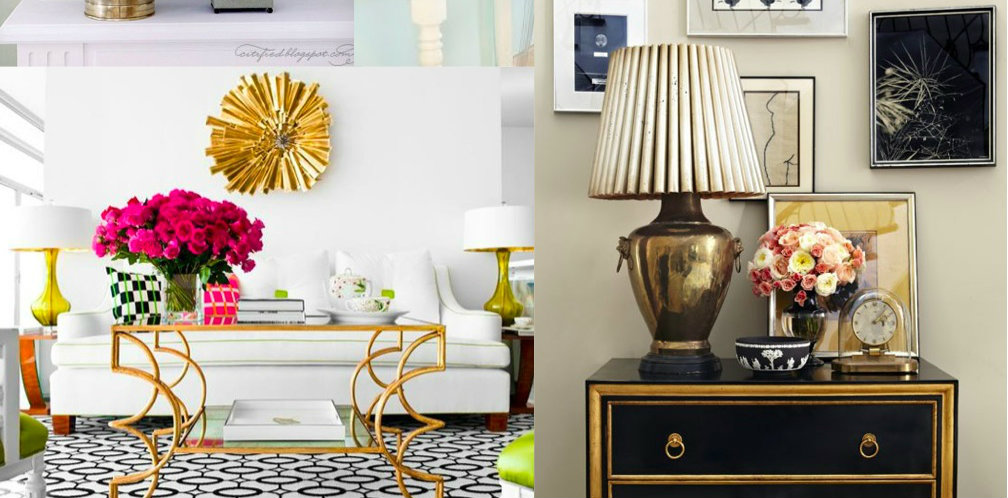 10 Ways to Add Gold to Your Interiors