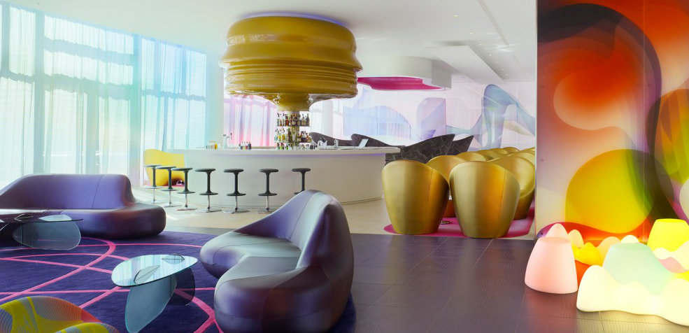 Colorful projects by Karim Rashid