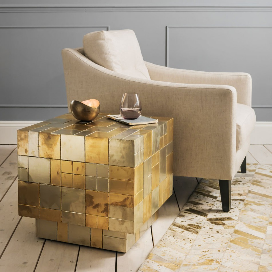 5 Beautiful Gold Side Tables That You Will Love
