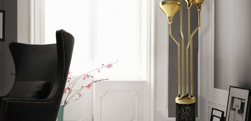 floor lamps Gold floor lamps to give your home a fancy look Gold floor lamps to give your home a fancy look 850x410