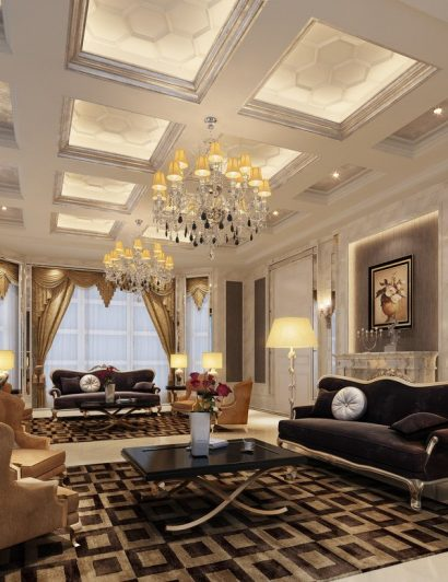 Chandeliers with Crystals Chandeliers with Crystals to sparkle your living room chandeliers with crystals 1 410x532