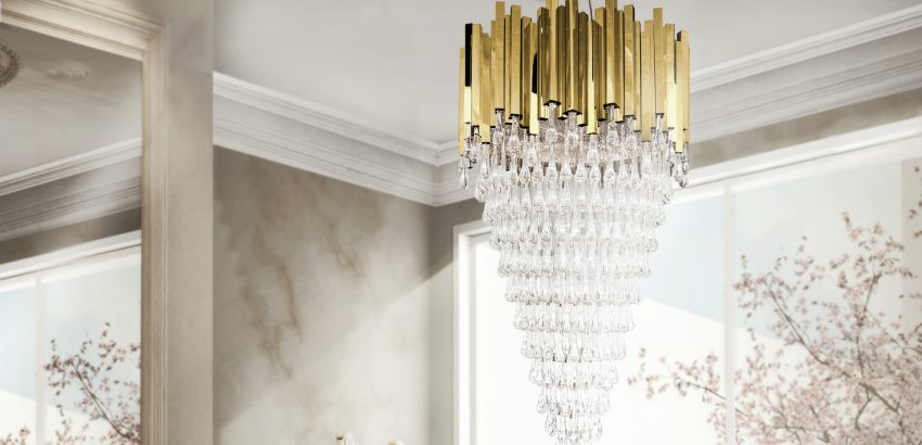 "Chandelier Get inspired with the free e-Book ""100 Luxury Chandeliers"" trump chandeleir 850x410"