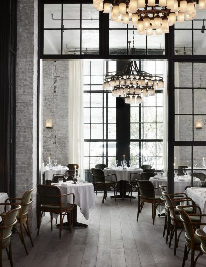 Roman & Williams Take a look at Roman & Williams – Designed Le Coucou Restaurant Roman Williams 1 410x532