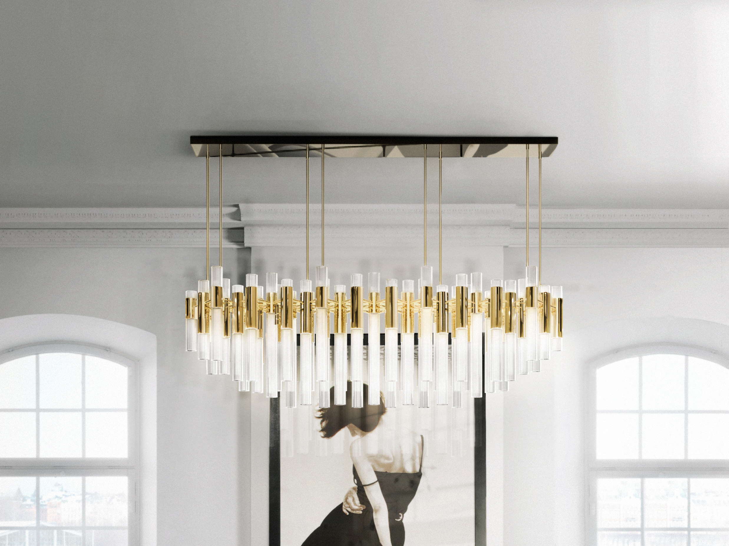 Luxury Chandeliers: Luxxu's selection for splendor in any scenario kelly hoppen Top Interior Designer: the work of Kelly Hoppen Waterfall Chandelier Feature kelly hoppen Top Interior Designer: the work of Kelly Hoppen Waterfall Chandelier Feature