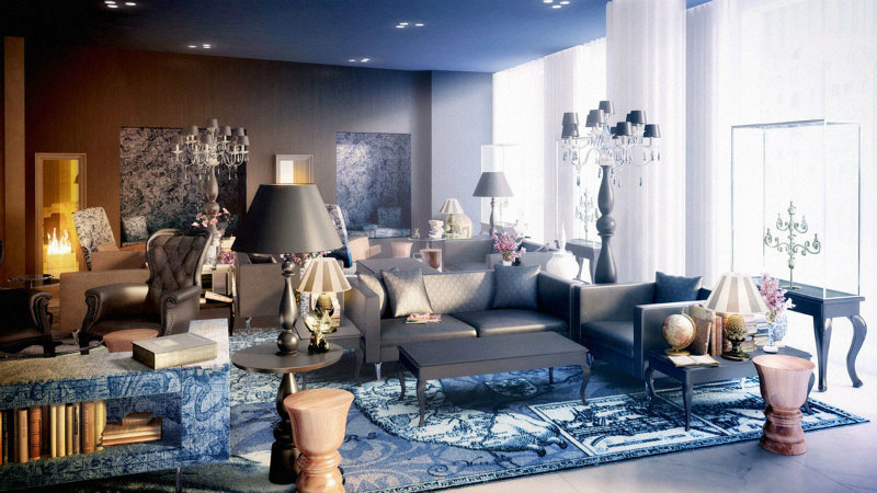 Top 10 contemporary interior designers dining room Dining room lighting ideas for a luxury interior 10 Top Interior Designers Marcel Wanders dining room Dining room lighting ideas for a luxury interior 10 Top Interior Designers Marcel Wanders
