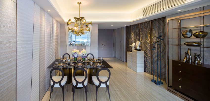 Dining room lighting ideas Delightfull Botti dining room Dining room lighting ideas for a luxury interior Dining room lighting ideas Delightfull Botti 850x410