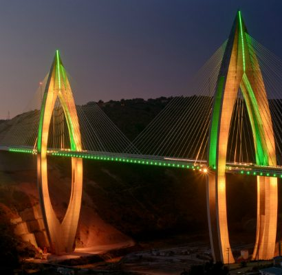 The fantastic lighting design of Africa's longest cable-stayed bridge lighting design The fantastic lighting design of Africa's longest cable-stayed bridge The fantastic lighting design of Africa   s longest cable stayed bridge lighting design 1 410x400