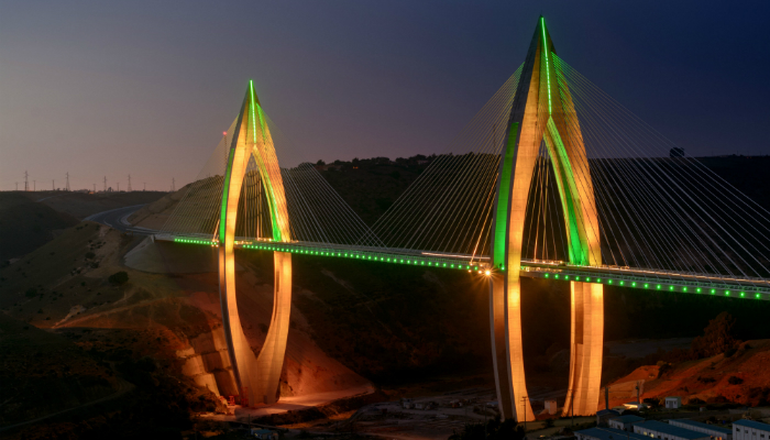 The fantastic lighting design of Africa's longest cable-stayed bridge lighting design The fantastic lighting design of Africa's longest cable-stayed bridge The fantastic lighting design of Africa   s longest cable stayed bridge lighting design 1