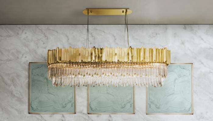 The right Lighting Design will make your home bright Luxury - Suspension Lighting