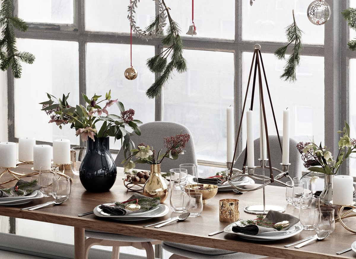 Georg Jensen Online Gift Guide will Help You find the best Design dubai design week Dubai Design Week: The largest festival in the Middle East Georg Jensen Christmas 2016 Ambiente Tisch dubai design week Dubai Design Week: The largest festival in the Middle East Georg Jensen Christmas 2016 Ambiente Tisch