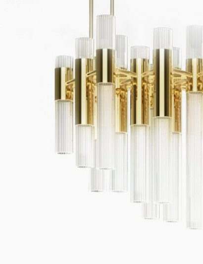 interior designer Luxury News: Interview with Russian Interior Designer Anna Sakharova waterfall chandelier luxxu modern lamps 410x532