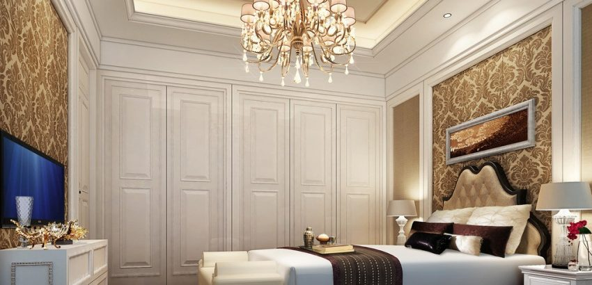 chandelier in every room 5 Reasons Why You Need to Hang A Chandelier in Every Room Bedroom Chandelier Lighting 850x410