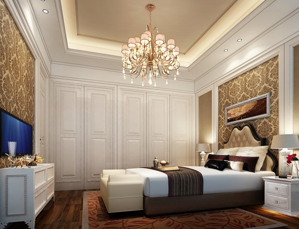 5 reasons why you need to hang a chandelier in every room - Bedroom Chandelier