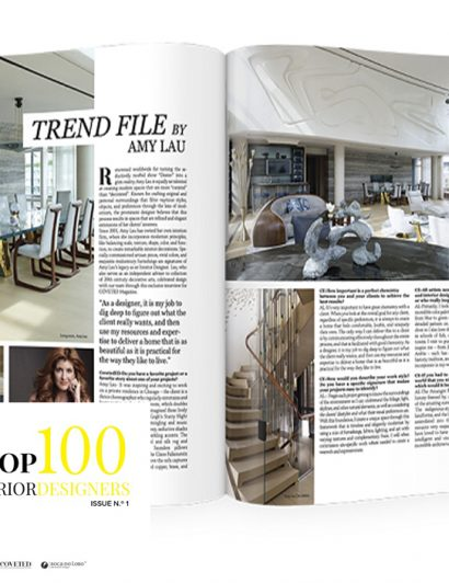 top 100 interior designers Top 100 Interior Designers Selected by Coveted Magazine Coveted Magazine Selected the Top 100 Interior Designers 12  410x532