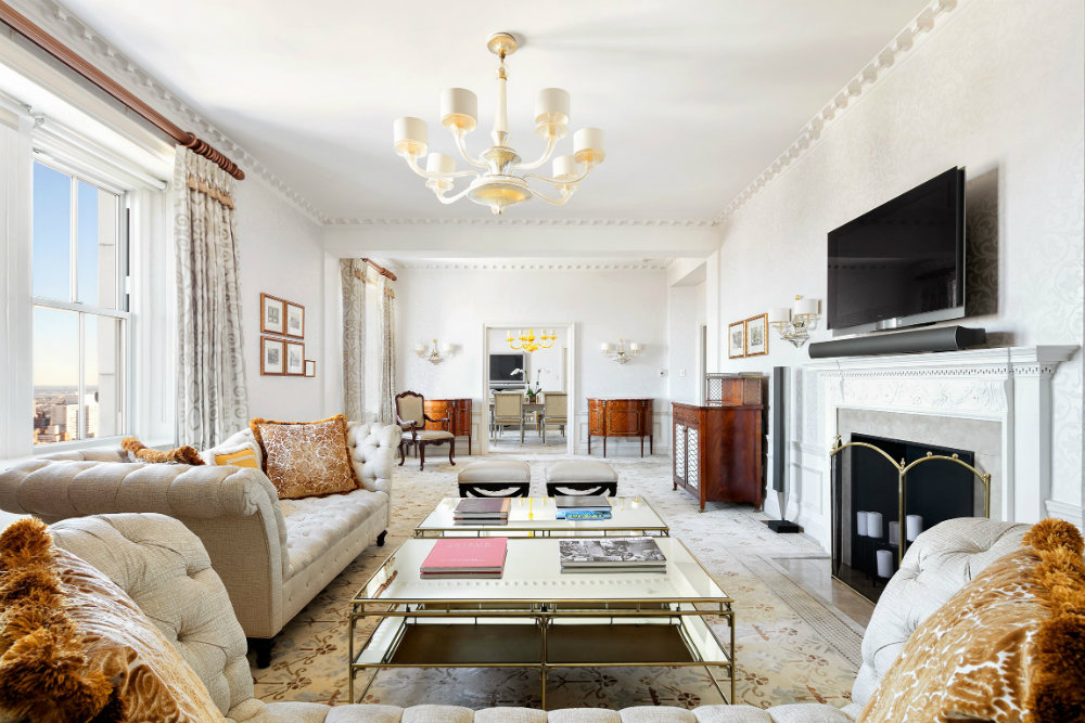 Inside the Most Expensive Rental Apartment in New York City