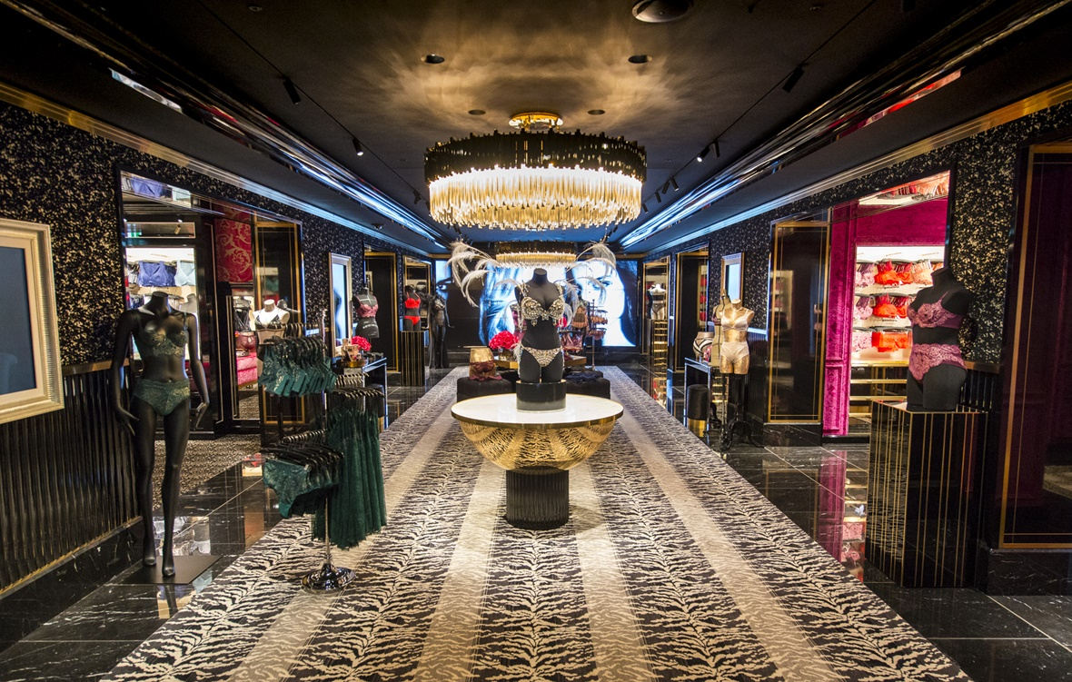 Peek Inside Victoria's Secret London Flagship Store at Bond Street