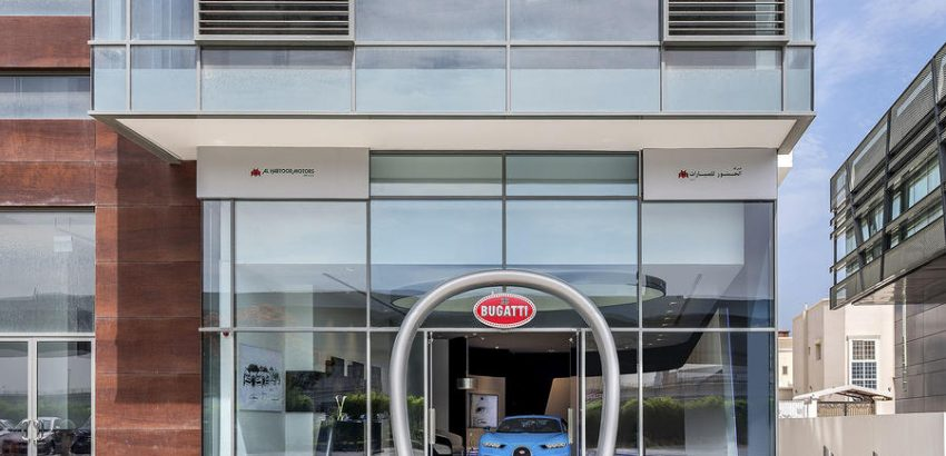bugatti showroom in dubai Bugatti Showroom in Dubai Happens To Be The Brand's Largest Bugatti Showroom in Dubai Happens to be The worlds Largest 2 850x410