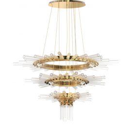 celebrity homes Celebrity Homes: The Weeknd Buys a $20 Million Hidden Hills Estate majestic chandelier 01 270x270