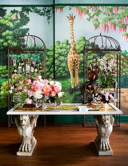 ken fulk Interior Design Project by Ken Fulk Features Exotic Patterns Interior Design Project by de Gournay and Ken Fulk Features Exotic Patterns 5 410x532