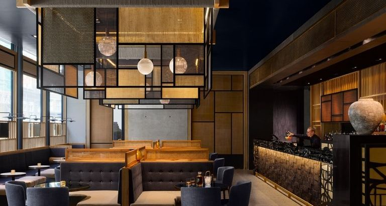 nobu hotel shoreditch Nobu Hotel Shoreditch in London Features Asian-Inspired Design Nobu Hotel Shoreditch in London Features Asian Inspired Design 5 768x410