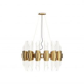 Crystal Chandeliers 5 Crystal Chandeliers To Elevate Your Interiors tycho round suspension 01 1 270x270