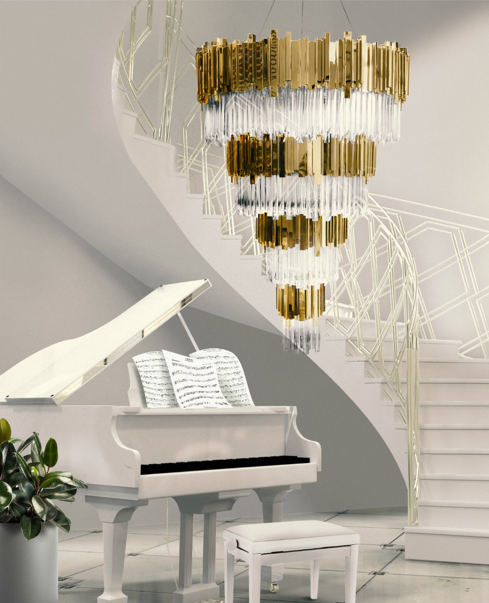 6 Luxurious Stairwell Designs You'll Love