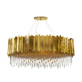 crystal lighting Get to Know Preciosa's Crystal Lighting Collection empire oval suspension 01 270x270