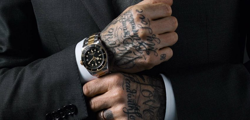 Luxury Watches David Beckham is Thee Newest Tudor's Ambassador 01