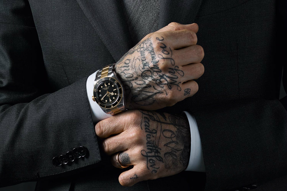 Luxury Watches: David Beckham is The Newest Tudor's Ambassador