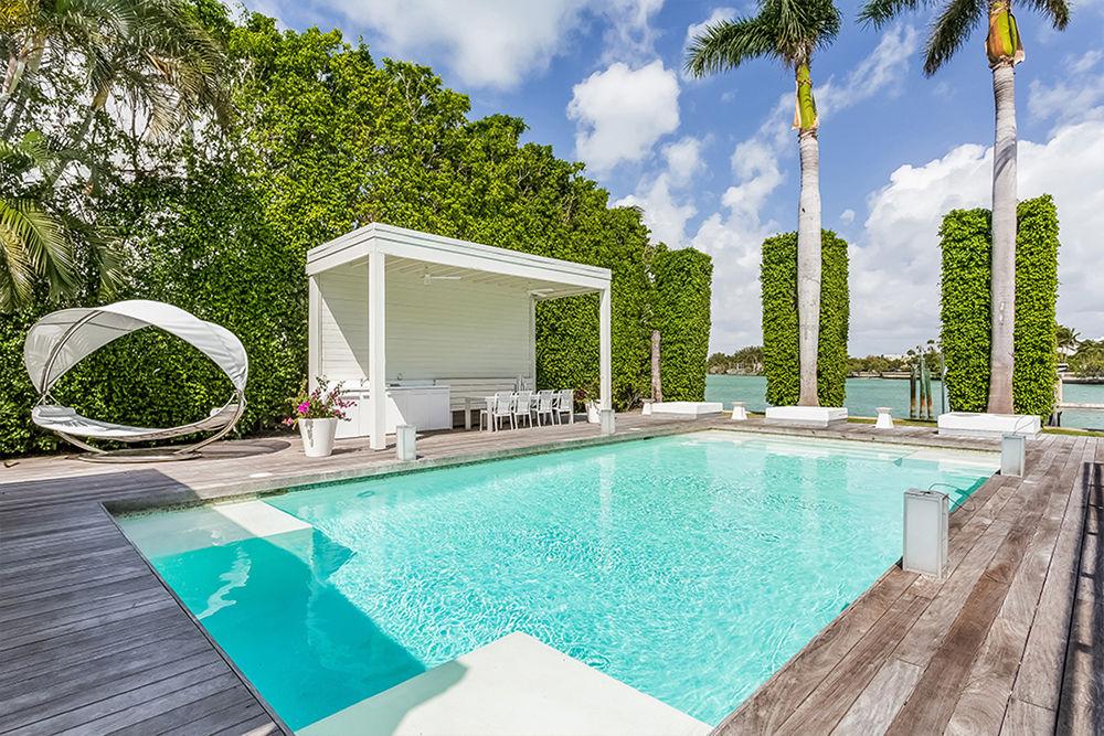 Celebrity Homes Shakira S Home In Miami Beach 07